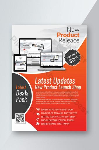 Dépliant électronique de lancement de nouveau produit Modèle PSD