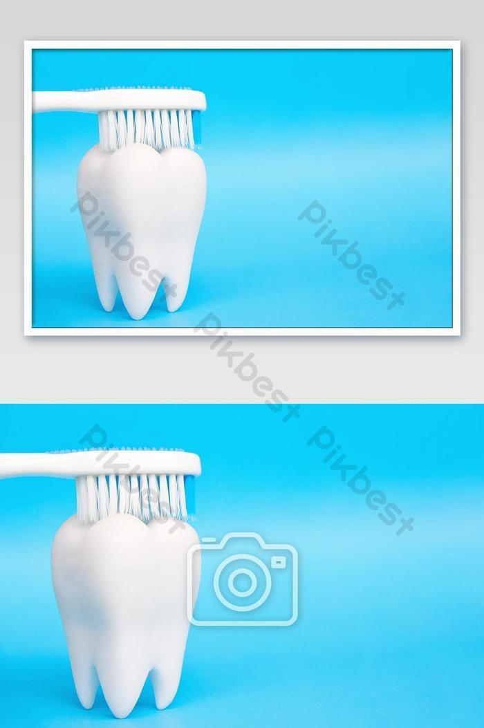 dentalhygiene-konzept