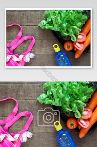 اللياقة البدنية وفقدان الوزن صورة صحية التصوير قالب JPG
