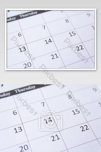 صورة صفحة التقويم التصوير قالب JPG