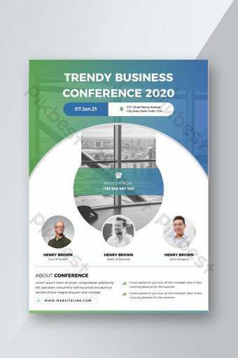 Dépliant de conférence Gradient Business Modèle AI