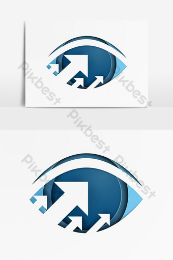 Searching for opportunities Business vision growth Vector Graphic Element PNG Images Template AI