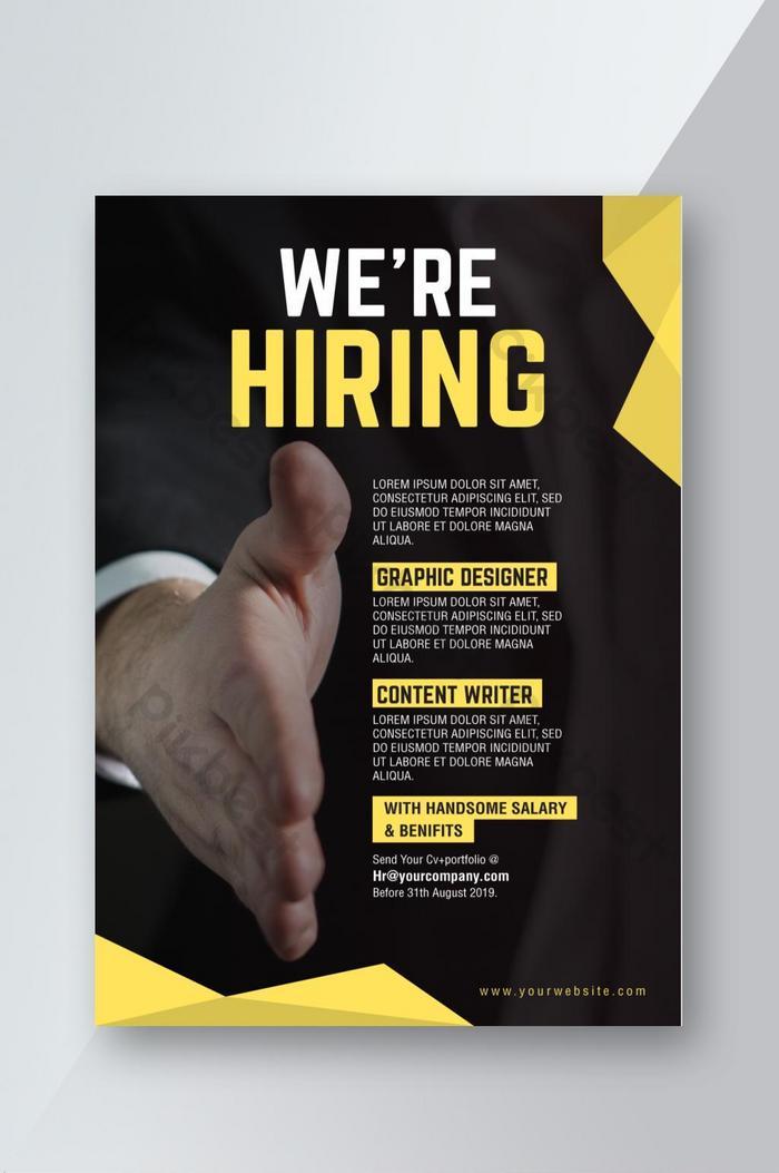 Download Job Vacancy Template Free Download Gif