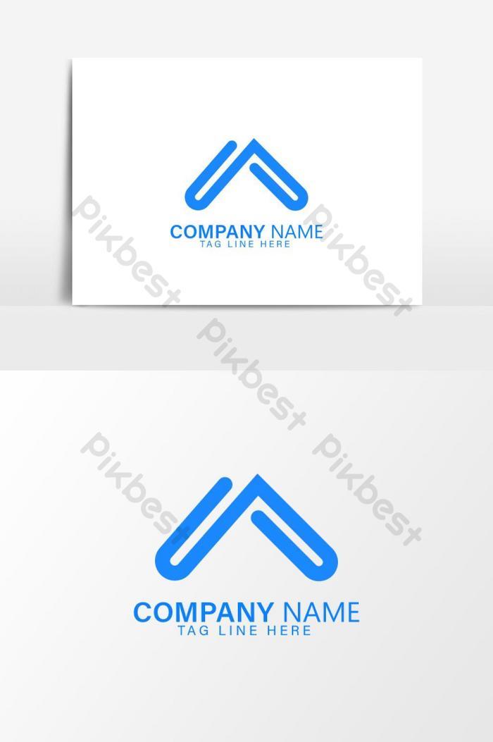 modelos de logotipo de carta
