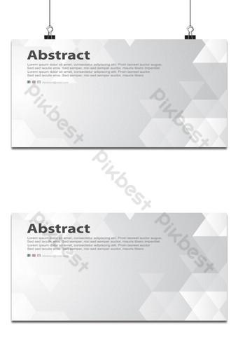 latar belakang putih segitiga bentuk geometris latar belakang dekorasi minimal abu-abu dan hitam Latar belakang Templat AI