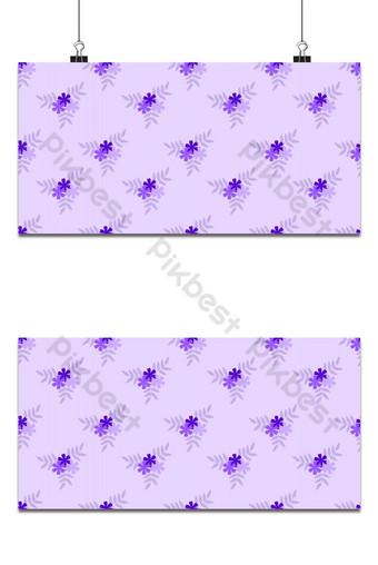 vector de patrones sin fisuras de fondo hermoso ramo de flores pequeñas Fondos Modelo EPS