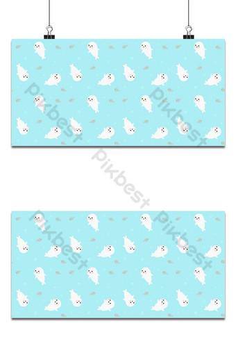 patrón sin costuras lindo sello y fondo de pescado Fondos Modelo EPS