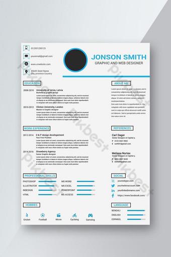 Mẫu sơ yếu lý lịch Cv sạch sẽ và chuyên nghiệp Bản mẫu PSD