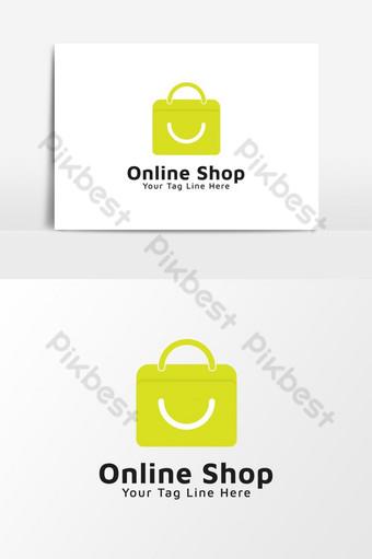 elemento gráfico de icono de tienda online Modelo AI