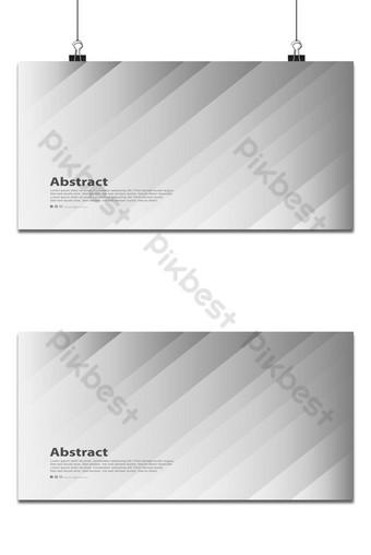 Resumen rayas modernas líneas blanco gris vector de fondo Fondos Modelo EPS