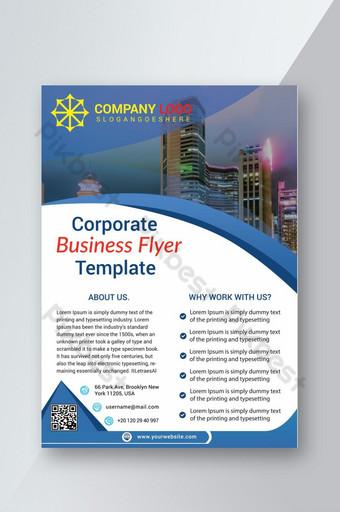Nouveau dépliant d'affaires élégant d'entreprise créative Modèle PSD