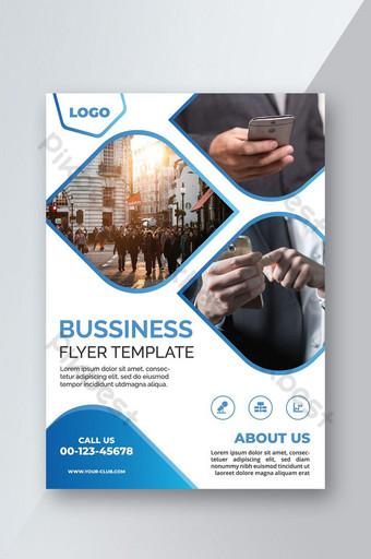 pamflet bisnis abstrak Templat AI