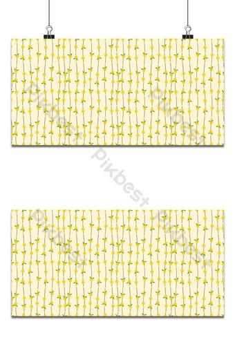 vector de patrones sin fisuras de fondo de línea hermosa flor pequeña Fondos Modelo EPS