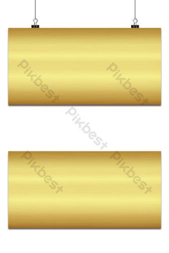 Textura metálica pulida de oro para el fondo Fondos Modelo AI