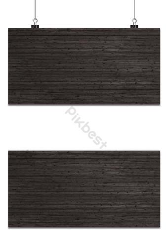 Superficie de textura de parquet de madera negra con fondo de patrón natural Fondos Modelo PSD