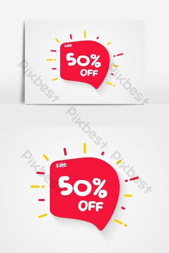 Jusqu'à 50 off Sale Discount offre prix signe Symbole de l'offre spéciale Enregistrer 70 élément graphique vectoriel Éléments graphiques Modèle AI