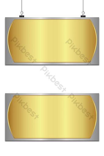 Fondo abstracto dorado y plateado con metalizado Fondos Modelo AI