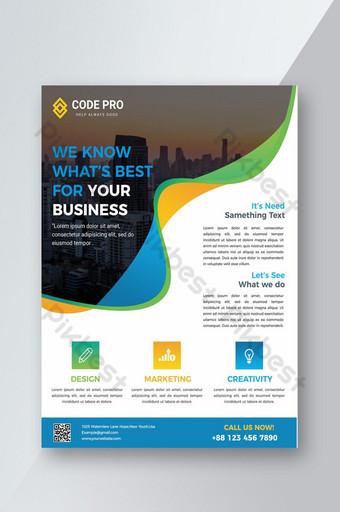 pamflet bisnis perusahaan Templat PSD