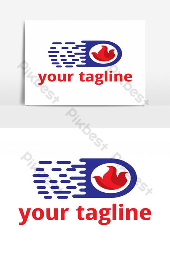 gas services logo Vector Graphic Element PNG Images Template AI