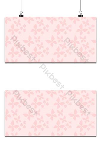 vector de patrones sin fisuras de mariposa hermosa flor pequeña fondo Fondos Modelo EPS