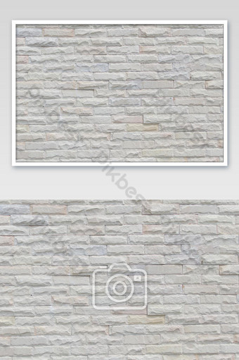 White brick wall, perfect as a backdrop square Photo Template JPG