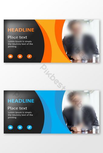 diseño de banner publicitario web Modelo AI