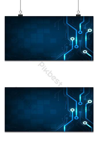 Conception dans le concept de cartes de circuits électroniques Contexte Fond Modèle EPS
