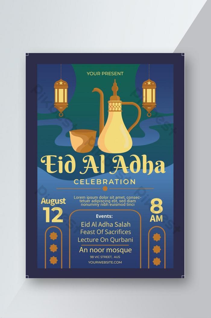 tờ rơi lễ kỷ niệm eid al adha