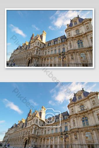 يقع فندق دي فيل في باريس في صورة فرنسا التصوير قالب JPG