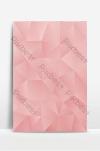 Fondo de plantilla poligonal abstracto rosa claro Fondos Modelo EPS