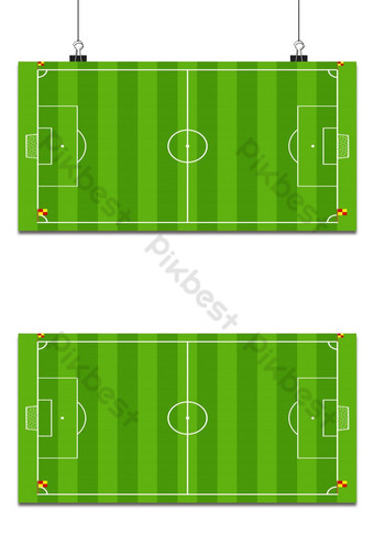 campo de futebol ou campo de futebol no fundo da vista superior Fundos Modelo EPS