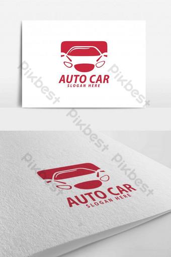 taller de reparación de automóviles automotrices garaje logo Modelo AI