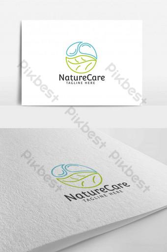 naturaleza cuidado del hogar hoja agua logo diseño plantilla aplicación empresarial Modelo AI