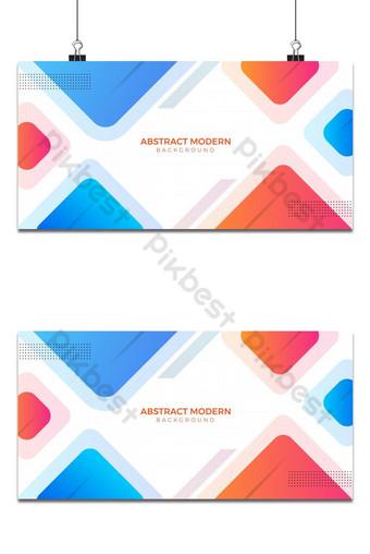 fondo geométrico abstracto rojo y azul Fondos Modelo AI