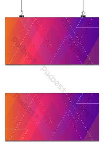 gradiente geométrico abstracto fondo rojo y morado Fondos Modelo AI