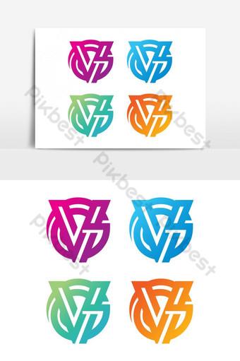 elemento gráfico de vector logo vg Elementos graficos Modelo EPS