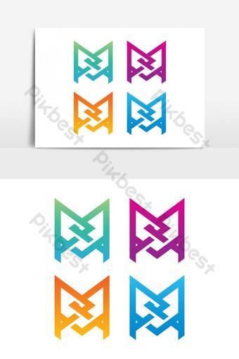 elemento gráfico de vector logo pmq Elementos graficos Modelo EPS