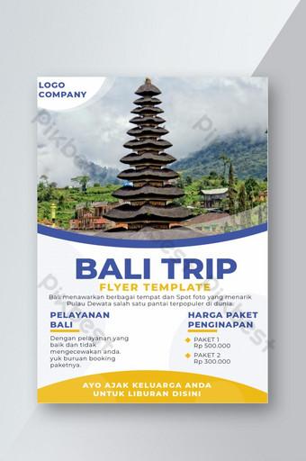 Bali Trip Flyer Template AI