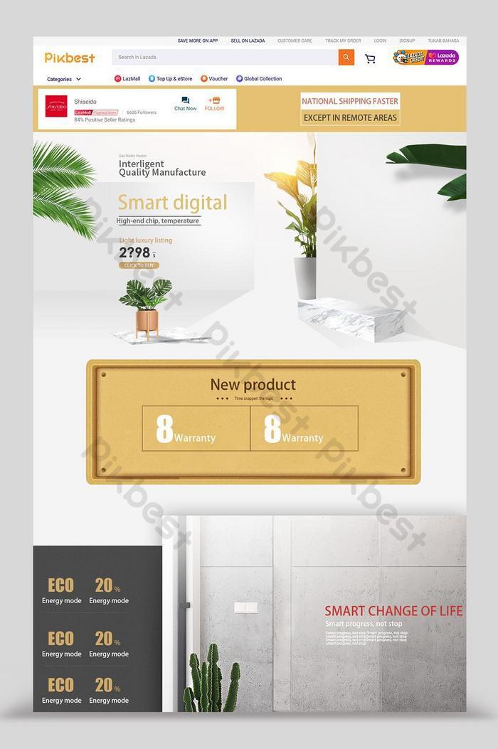 lazada home background digital home appliances home