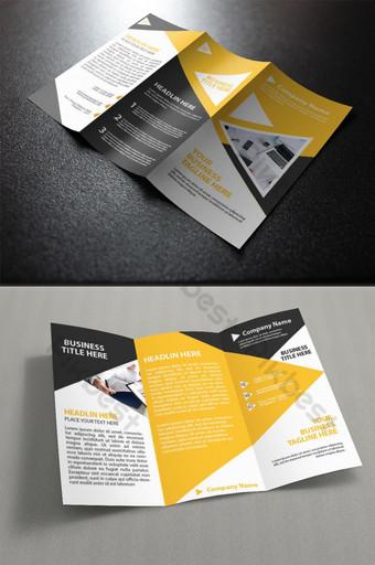 креативная бизнес-брошюра шаблон AI