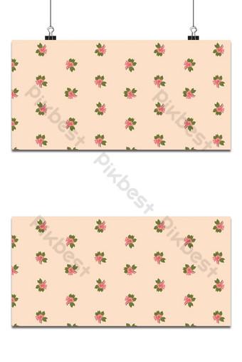 Pequeño patrón floral transparente flores de magnolia y hojas de fondo de estilo exótico Fondos Modelo EPS