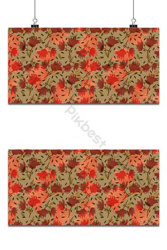 Seamless patrón floral pequeño magnolia flores y hojas de fondo exótico Fondos Modelo EPS