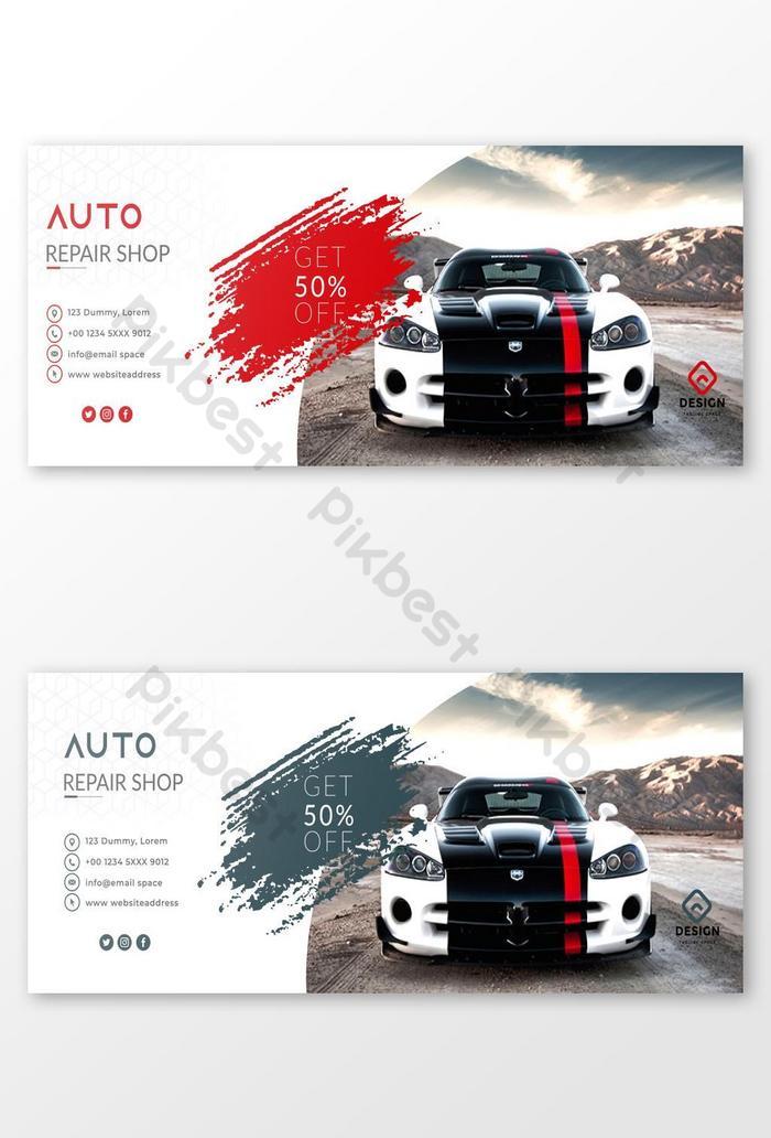 Car Repair Facebook Cover Design Ai Free Download Pikbest