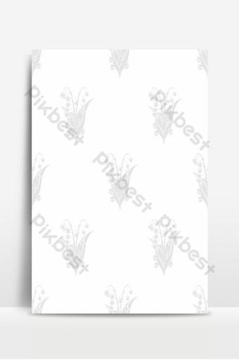 تصميم الزهور بتدرج الرمادي لخلفية خلفيات النسيج بطاقة معايدة خلفيات قالب PSD