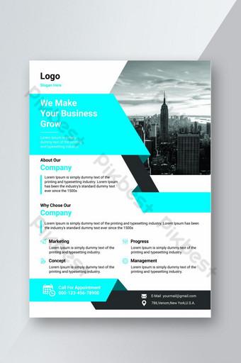 Modèle de conception de flyer de marque créative pour l'image de marque de l'entreprise Modèle PSD
