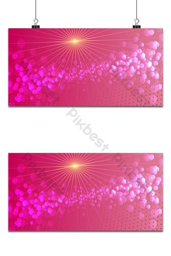 brillo dorado brillante en plantilla de diseño de fondo de vector rosa Fondos Modelo AI