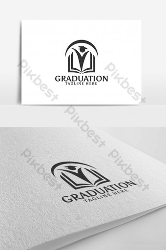 educación escuela pluma libro símbolo logo diseño plantilla inspiración Modelo AI