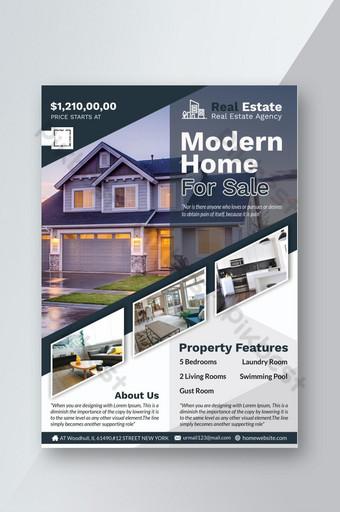 Dépliant immobilier Modèle PSD