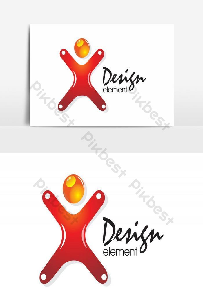 Tokoh Reka Bentuk Logo Syarikat Kreatif Elemen Grafik Vektor Elemen Grafik Ai Percuma Muat Turun Pikbest