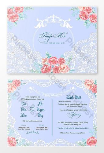 بطاقة زفاف جميلة معنى الزفاف قالب تحية سعيدة قالب تصميم الزفاف قالب AI